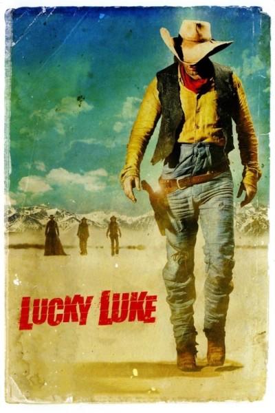 Caratula, cartel, poster o portada de Lucky Luke