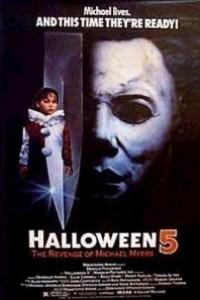 Caratula, cartel, poster o portada de Halloween 5: La venganza de Michael Myers
