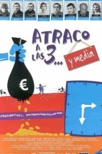 Caratula, cartel, poster o portada de Atraco a las 3... y media