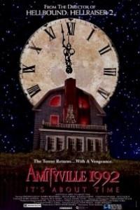 Caratula, cartel, poster o portada de Amityville 1992: Es cuestión de tiempo