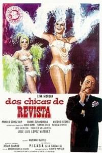Caratula, cartel, poster o portada de Dos chicas de revista