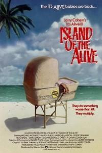 Caratula, cartel, poster o portada de It\'s Alive 3: Island of the Alive