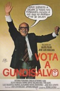 Caratula, cartel, poster o portada de Vota a Gundisalvo