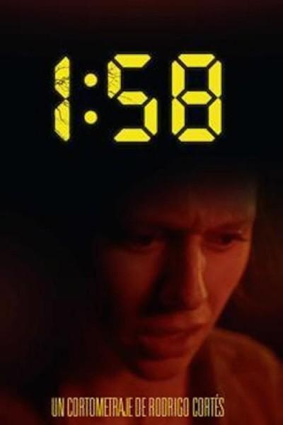 Caratula, cartel, poster o portada de 1:58