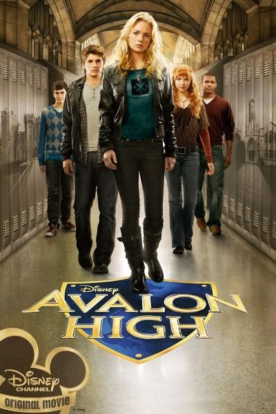 Caratula, cartel, poster o portada de Avalon High
