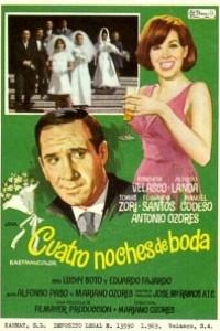 Caratula, cartel, poster o portada de Cuatro noches de boda