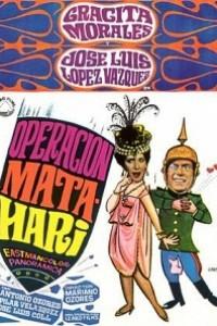 Caratula, cartel, poster o portada de Operación Mata Hari