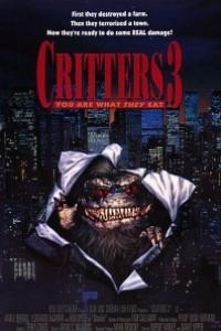 Caratula, cartel, poster o portada de Critters 3