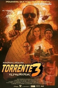 Caratula, cartel, poster o portada de Torrente 3: El protector
