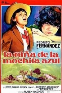 Caratula, cartel, poster o portada de La niña de la mochila azul