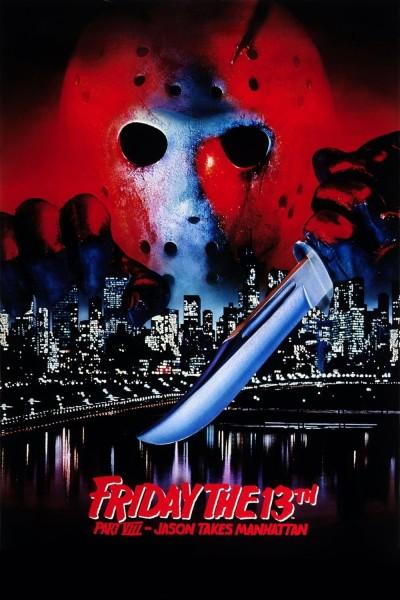 Caratula, cartel, poster o portada de Viernes 13. Parte VIII: Jason vuelve... para siempre