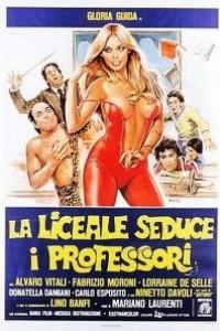 Caratula, cartel, poster o portada de La colegiala seduce a los profesores