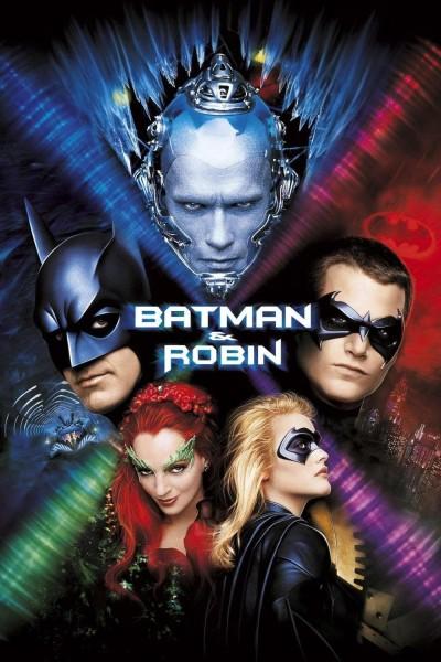 Caratula, cartel, poster o portada de Batman y Robin