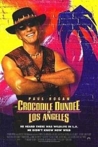 Caratula, cartel, poster o portada de Cocodrilo Dundee en Los Ángeles