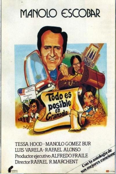 Caratula, cartel, poster o portada de Todo es posible en Granada