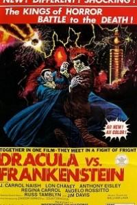 Caratula, cartel, poster o portada de Drácula vs. Frankenstein