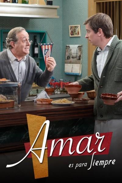 Caratula, cartel, poster o portada de Amar es para siempre