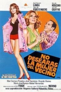 Caratula, cartel, poster o portada de No desearás la mujer del vecino