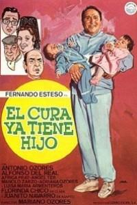 Caratula, cartel, poster o portada de El cura ya tiene hijo