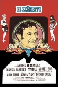 Caratula, cartel, poster o portada de El señorito y las seductoras