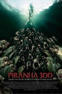Caratula, cartel, poster o portada de Piraña 2 (Piranha 3DD)