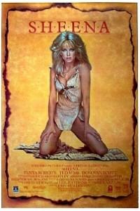 Caratula, cartel, poster o portada de Sheena, reina de la selva