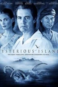 Caratula, cartel, poster o portada de La isla misteriosa de Julio Verne