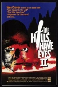 Caratula, cartel, poster o portada de Las colinas tienen ojos 2