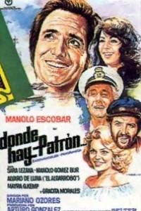 Caratula, cartel, poster o portada de Donde hay patrón...