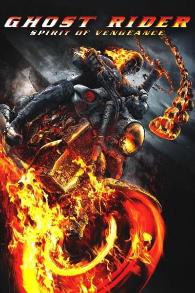 Caratula, cartel, poster o portada de Ghost Rider: Espíritu de venganza