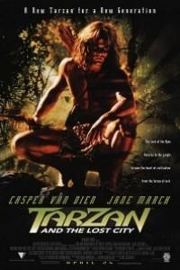 Caratula, cartel, poster o portada de Tarzán y la ciudad perdida