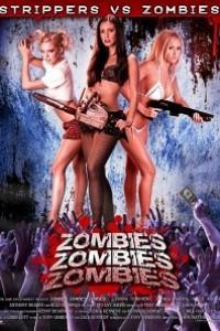 Caratula, cartel, poster o portada de Zombies! Zombies! Zombies!: Strippers vs. Zombies