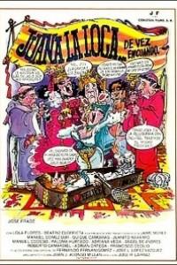 Caratula, cartel, poster o portada de Juana la loca... de vez en cuando