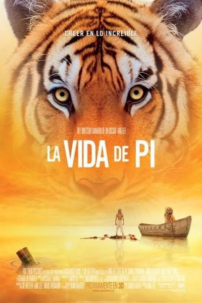 Caratula, cartel, poster o portada de La vida de Pi