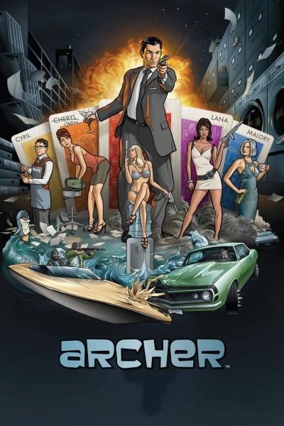 Caratula, cartel, poster o portada de Archer
