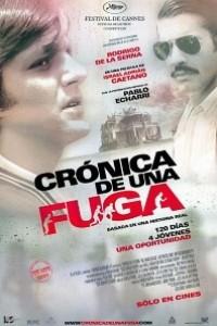 Caratula, cartel, poster o portada de Crónica de una fuga