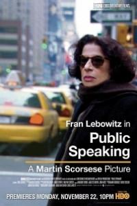Caratula, cartel, poster o portada de Public Speaking