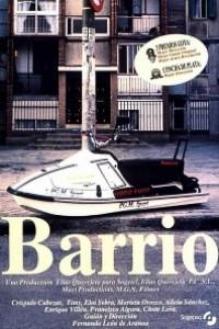 Caratula, cartel, poster o portada de Barrio