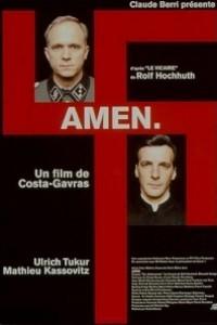 Caratula, cartel, poster o portada de Amén.