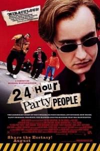 Caratula, cartel, poster o portada de 24 Hour Party People