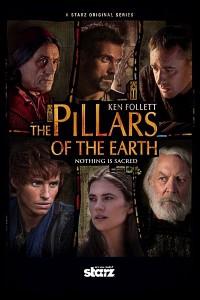 Caratula, cartel, poster o portada de Los pilares de la Tierra