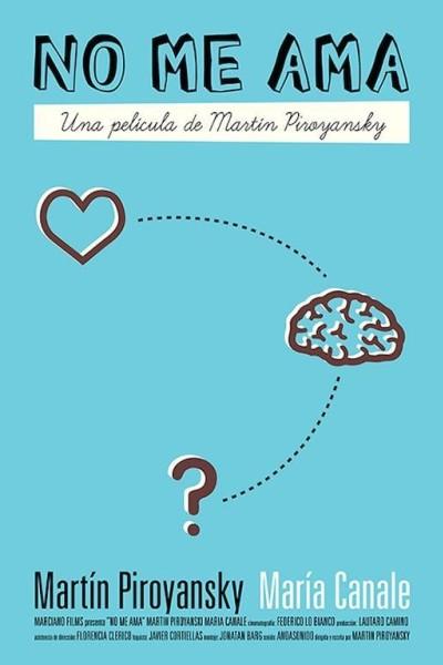 Caratula, cartel, poster o portada de No me ama