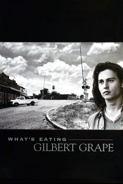 Caratula, cartel, poster o portada de ¿A quién ama Gilbert Grape?