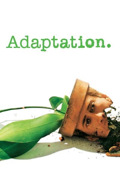 Caratula, cartel, poster o portada de Adaptation (El ladrón de orquídeas)