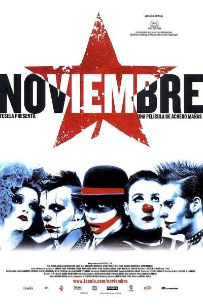 Caratula, cartel, poster o portada de Noviembre