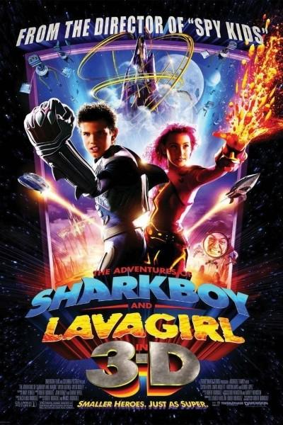 Caratula, cartel, poster o portada de Las aventuras de Sharkboy y Lavagirl en 3-D