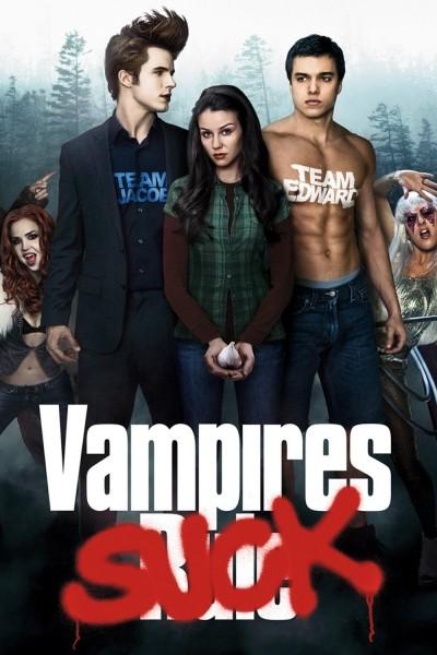 Caratula, cartel, poster o portada de Híncame el diente (Vampires Suck)