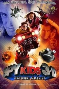 Caratula, cartel, poster o portada de Spy Kids 3D: Game Over