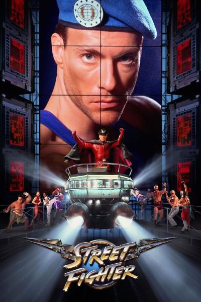 Caratula, cartel, poster o portada de Street Fighter, la última batalla