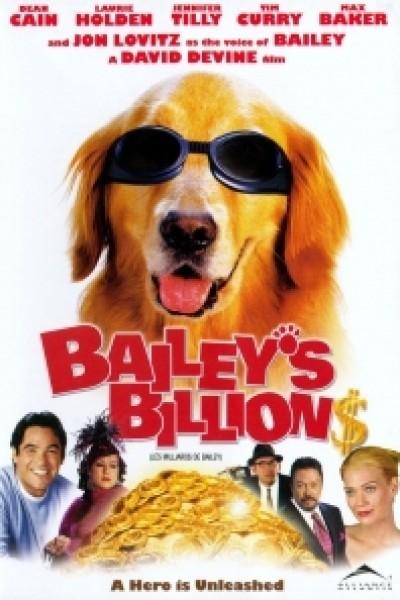 Caratula, cartel, poster o portada de Bailey: una fortuna muy perruna